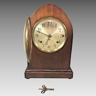 Seth Thomas Beehive Case Clock Westminster Chimes Running and Striking 4 Rod Strike