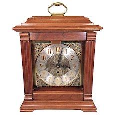 Vintage Bracket Clock F Hermle Movement Westminster Chimes Not Running 1987