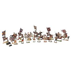 Assortment of German Painted Lead Flat Figures from Forbes Museum of Military Miniatures   1997 Auction @ Christie's