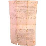 Rowland Langford Indentures (Deeds) for Land in Massachusetts - 1802 1805 & 1814