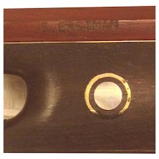 Vintage S Eastman Violin Bow Six Octagonal Shaft Came with Violin Attributed to Buffalo Bill Cody