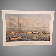 Bay Country Landing Limited Edition Print Paul McGehee 1978