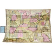 Mitchell's National Map and Route Book S Augustus Mitchell 1846 Printer Kay and Brother