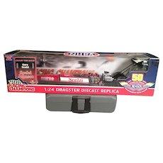 Racing Champions, NHRA, 50th Anniversary Series, 2001 Gary Zcelzi, Matco Tools Diecast Replica - New in Box