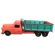 Vintage Structo Dump Truck - Hydraulically Operated, 1950s