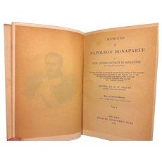 Memoirs of Napoleon Bonaparte 3 Volume Set by Louis Bourrienne Private Secretary