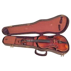 Vintage E R Pfretzschner Violin w/ Hard Case 1975 Antonius Stradivarius Model