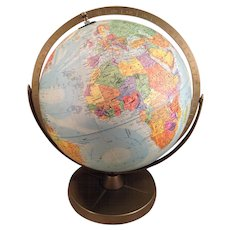 "Replogle Comprehensive Globe 11.5"" Metal Base"