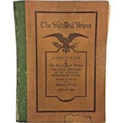 Antique Bound Edition of the Entire Stars & Stripes Newspapers Series from World War I 1920