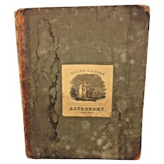 Young Ladies' Astronomy 1825 by M R Bartlett Colwell and Wilson Utica NY