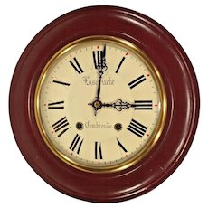 Vintage Fascruche Gallery Wall Clock Combronde Not Running France