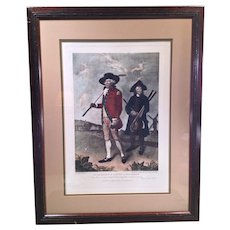 To the Society of Golfers at Blackheath Engraving V Green Mezzotinto 1791