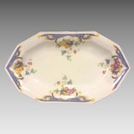 RELISH DISH Princess China Belwood Alpena Pattern Bavaria