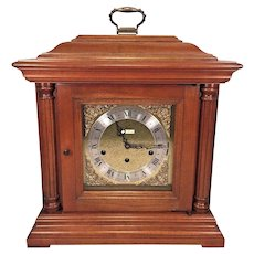 Vtg Seth Thomas Bracket Clock 3 Chime Options Model 1325 Seth Royal Runs Strikes & Chimes!  8 Strike Hammers