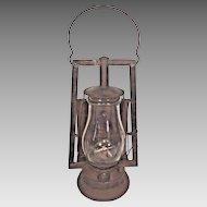 Vintage Dietz Buckeye Dash Lantern Reflector Glass Broken New York