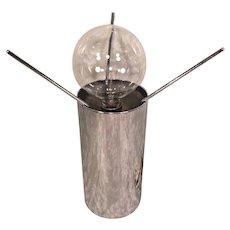 Rare! Mid-Century Modern Giuseppe Ostuni O-Luce Milano Italy Table Lamp w/ Label