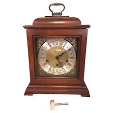 Howard Miller (Barwick Division) Bracket Clock  3 Chime Options Runs Striking & Chiming Correctly