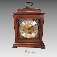 Howard Miller (Barwick Division) Bracket Clock  3 Chime Options Runs Striking & Chiming Correctly