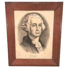 George Washington Lithograph   Published by Currier & Ives circa 1858