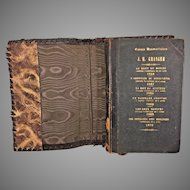 Theatre Comedy Vaudeville Jean Michel Granger Draft Scripts Playbills Broadsides Scrap Book Journal from 1858-70