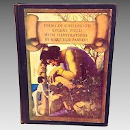 Poems of Childhood Book by Eugene Field  Illustrated by Maxfield Parrish 1922