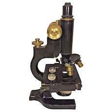 Vintage Spencer Microscope w/ Wood Case