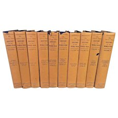 History of the World War Book 10 Vols w/ Jackets 1919 by Francis Whiting Halsey The Literary Digest Funk & Wagnalls