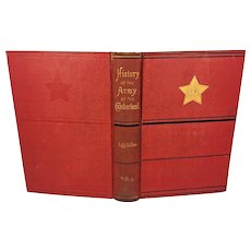 History of the Army of the Cumberland 2 Vol Set 1875 by Thoms Van Horne Publ Robert Clarke & Co 1st Edition Owned by Capt Heber Thompson of the 7th Pennsylvania Cavalry