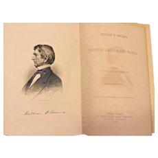 William H Seward's Travels Around the World Book 1873 D Appleton & Co New York