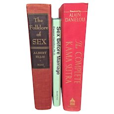 3 Books on Sex The Complete Kama Sutra, Sex Before Marriage & Folklore of Sex