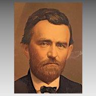 Ulysses S Grant in Uniform Civil War 1865  Middleton & Co Chromolithograph  Civil War Union General