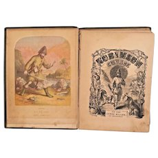 The Life and Adventures of Robinson Crusoe 1859 by Daniel De Foe Illustrated by Thwaites