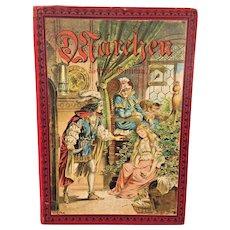 Grimm's Marchen Don B Grimm Mir Farben drudbildern M Schaefer Berlin Globus Derlag Brothers Grimm Fairy Tales in German   Abundant #  of Colored Illustrations GMBH