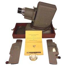 Vintage Three Dimension Company Slide Projector TD Vivid Slide Projector  Model RP in Case