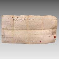 1783 Philadelphia Deed Indenture Peter Whiteside Benjamin Paschall Elijah Brown ? Millen & Francis Knox  Antique Philadelphia PA Indenture