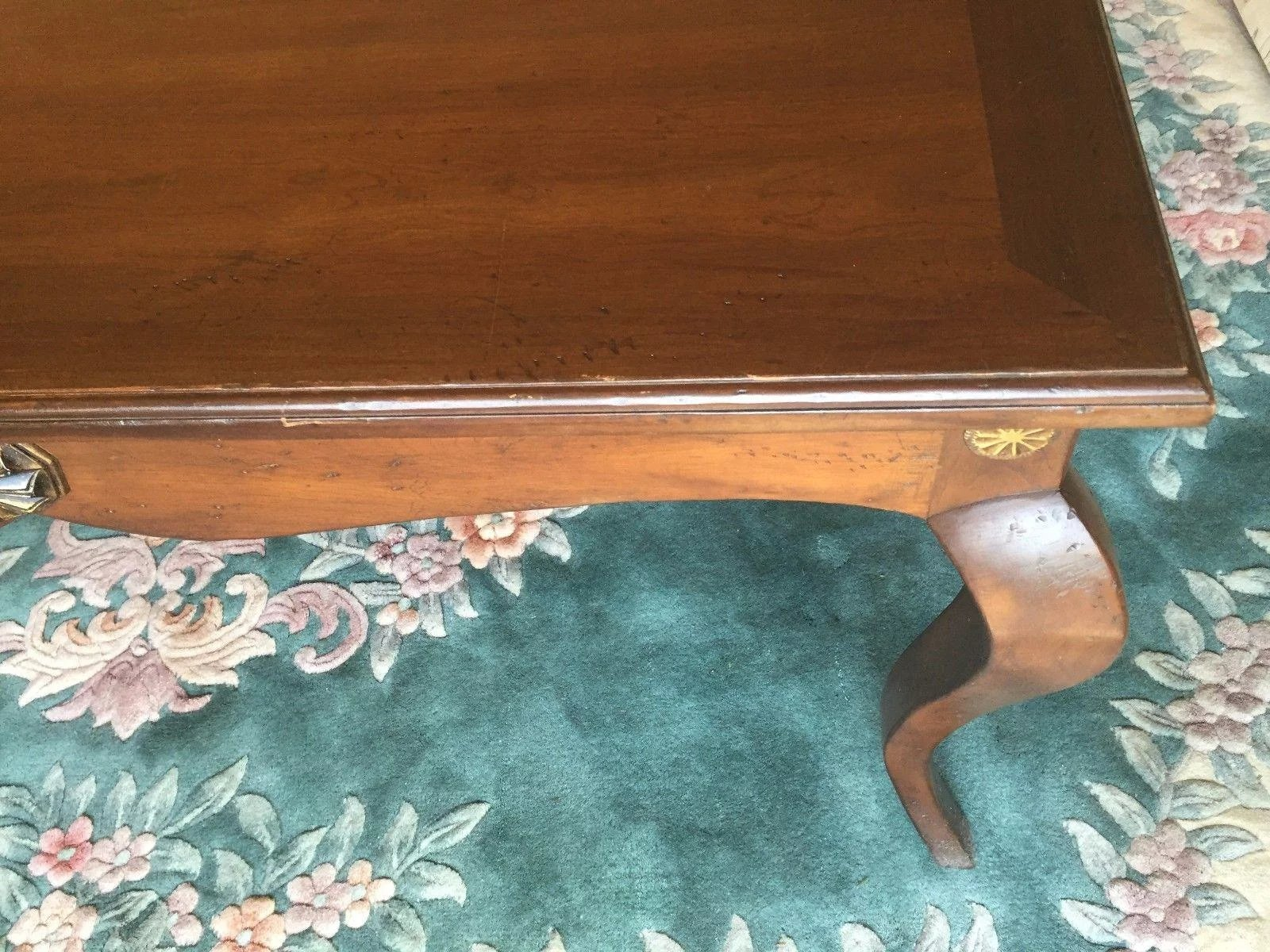 To Expand Vintage Baker Milling Road Console End Table English Provincial Look Cabriole