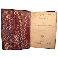 Lays of the Scottish Engineers William Edmondstoune 'Aytoun 1877 James Osgood Boston
