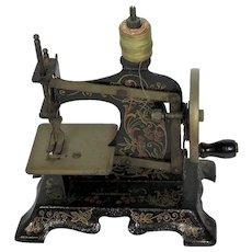 Rare Toy Sewing Machine. German. Circa 1900.