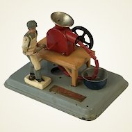1950's Lithographed Fleischmann Animated Tin Plate Toy