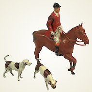 Britain's Lead Mounted Huntsman and Hounds