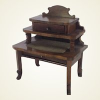 Fabulous 19th Century German Miniature Writing Desk for Dolls House.