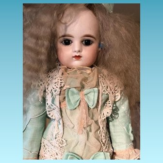 Perfect French doll F. Gaultier  Pressed Bisque Doll size 6 - 50 cm
