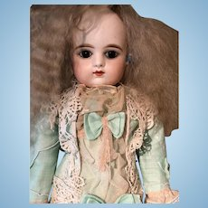 Perfect French doll F. Gaultier  Pressed Bisque Doll size 6 - 55 cm