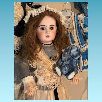 French PARIS Tete Jumeau Bisque Head doll 65 cm 25,5 inches