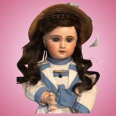 French PARIS Jumeau poupée Bisque Head doll 50 cm 19 inches