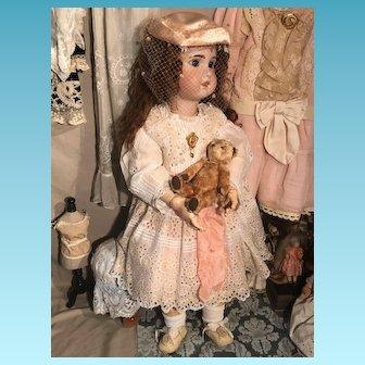Big size Tete Jumeau Doll 80 cm perfect