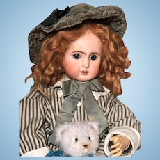 """Jules Nicolas Steiner """"Le Parisien"""" bisque head doll 60 cm tall Perfect"""