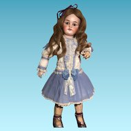 Antique French Doll Simon Halbig Blue Eyes. perfect