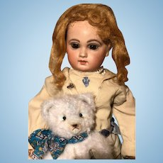 Pretty all Original small French Bebe Emile Jumeau rare small doll