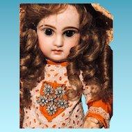 Merveilleuse poupée tete Jumeau closed  mouth.40 cm